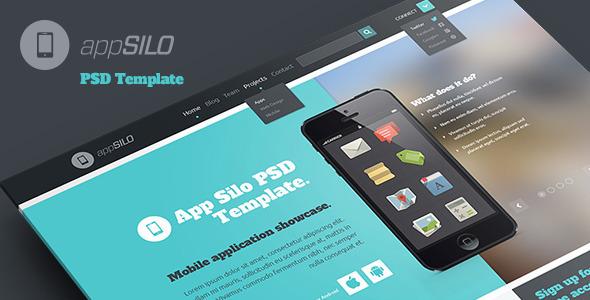 App Silo - PSD Template PSDTemplates