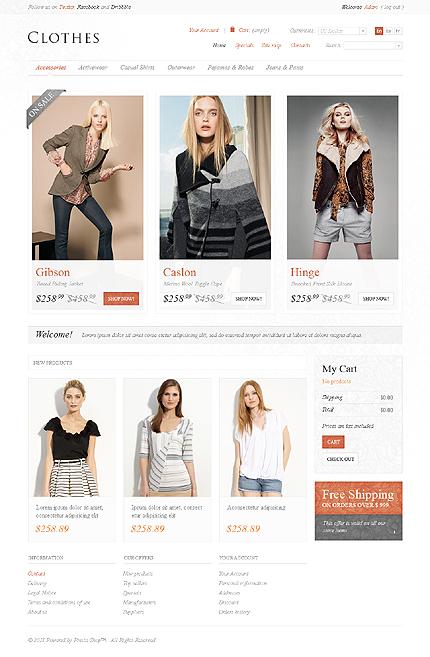 Clothes shop TMT