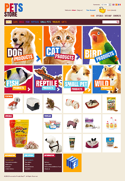 Cute Pets Products TMT