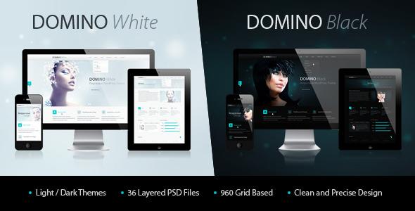Domino PSD Theme PSDTemplates