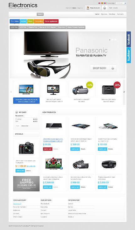Electronics Store TMT