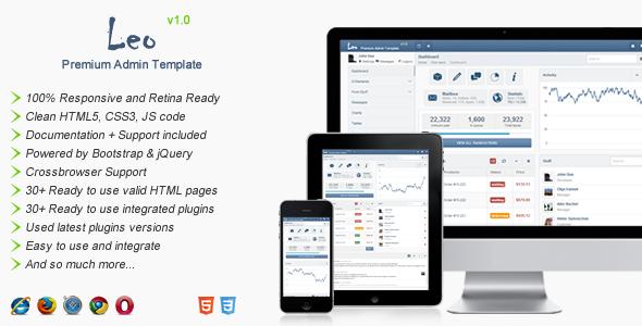 Leo - Premium Admin Template SiteTemplates