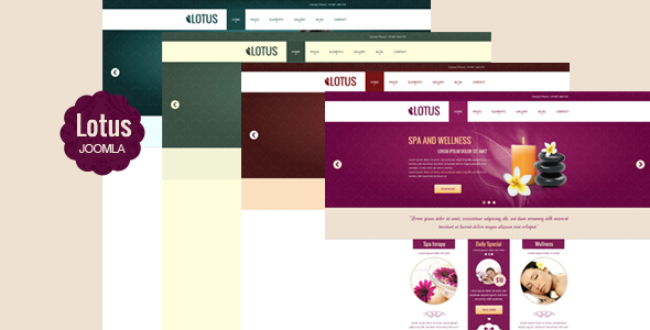 Lotus - Multipurpose Responsive Joomla Template