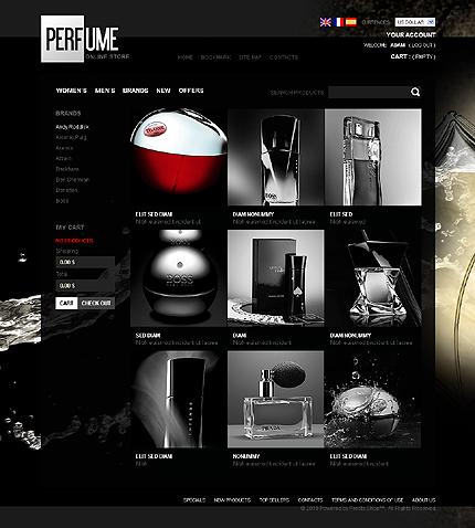 Perfume online shop TMT