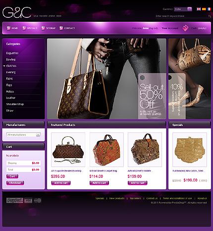Purple Women Store TMT
