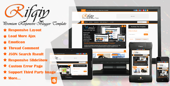 Rifqiy - Responsive Blogger Template