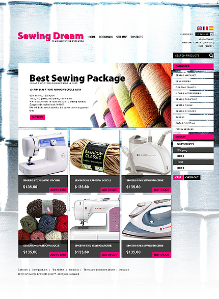 Sewing Goods TMT