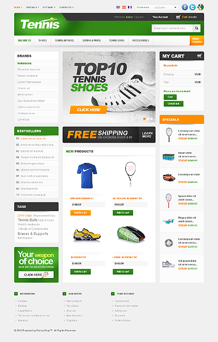 Tennis Products TMT