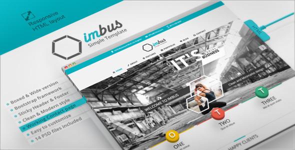 imbus - Simple HTML Template SiteTemplates