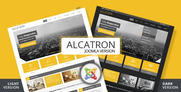 Alcatron - Multipurpose Joomla Template