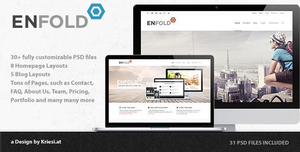 Enfold - PSD  PSDTemplates