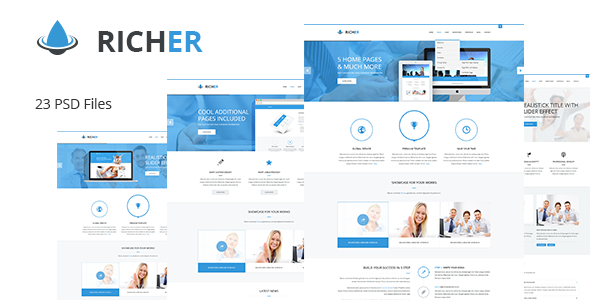 Richer PSDTemplates