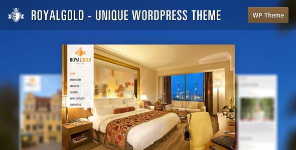 RoyalGold - Unique WordPress Theme