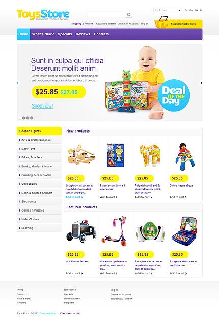 Toys Store osCommerce  TMT