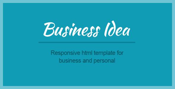Business Idea - Multi-purpose HTML5 template
