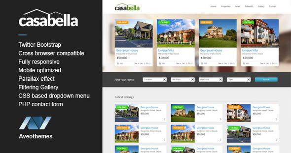Casabella - Responsive Real Estate Template