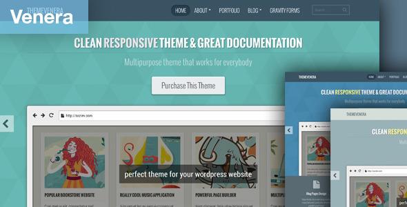 Venera - Responsive Portfolio and Blog Theme