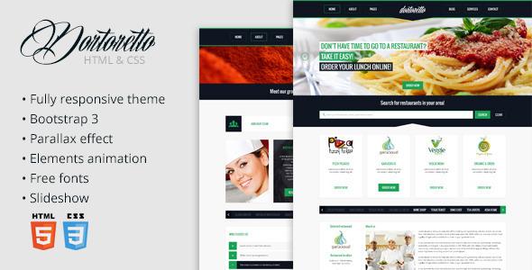 Dortoretto HTML Theme SiteTemplates