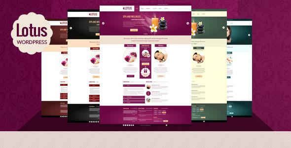 Lotus Multipurpose Wordpress Theme