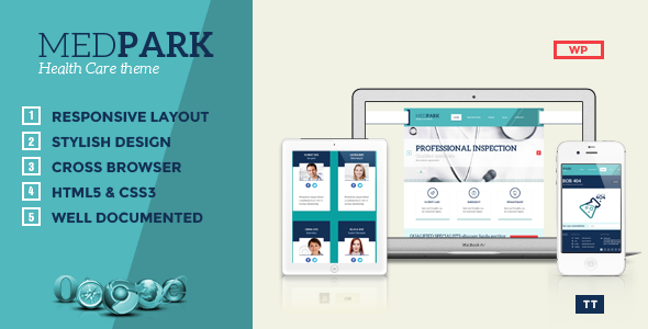 MedPark - Responsive Medical Health WordPress Them