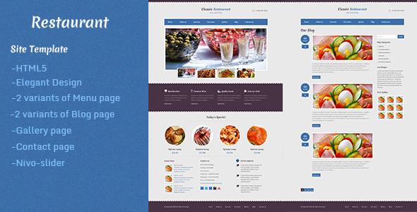 Restaurant SiteTemplates