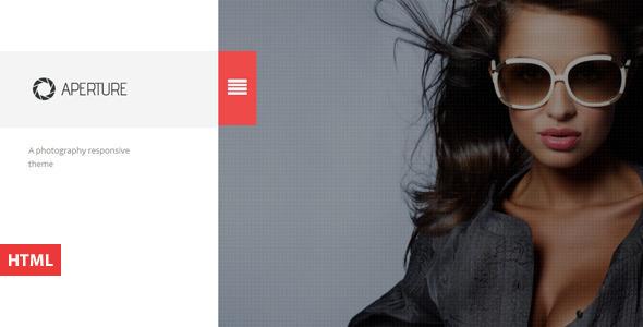 Aperture - Creative Photography HTML Template