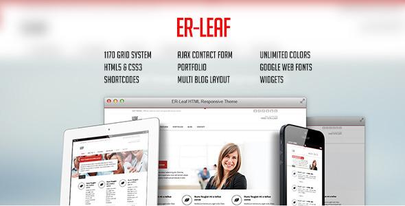 ER Leaf - Responsive Business HTML5 Theme