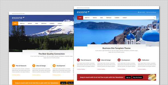 Exoone - Corporate Business HTML Template