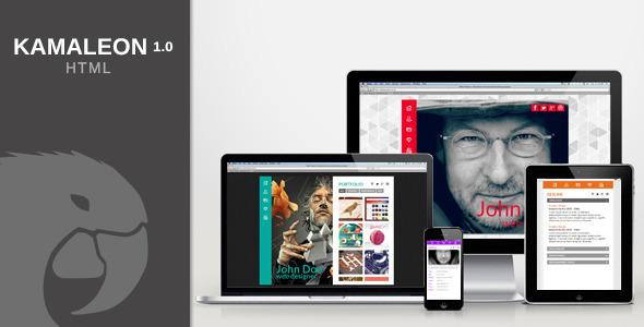 Kamaleon vCard - HTML SiteTemplates
