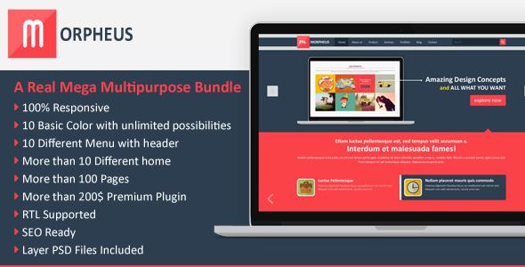 Morpheus Multipurpose Mega HTML Template