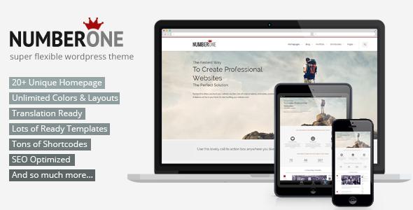 NumberOne - Flexible OnePage & Multipurpose Theme