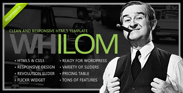 Whilom Responsive HTML5 Template