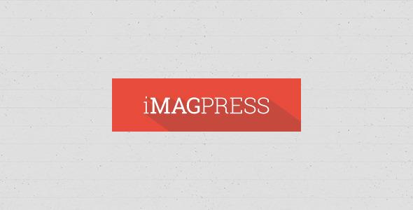iMagPress - PSD Flat Magazine Theme