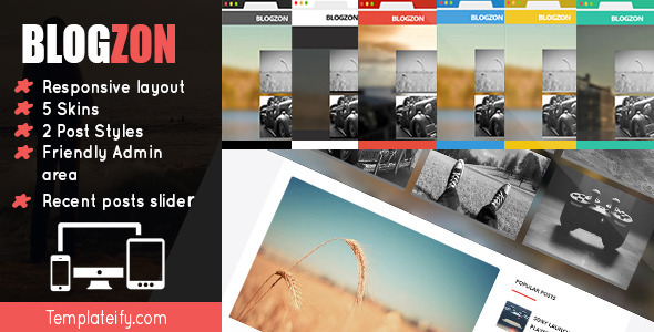 Blogzon: Responsive and Multipurpose Template  TForest