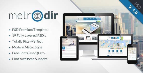 METRODIR -  Directory PSD Template   TForest