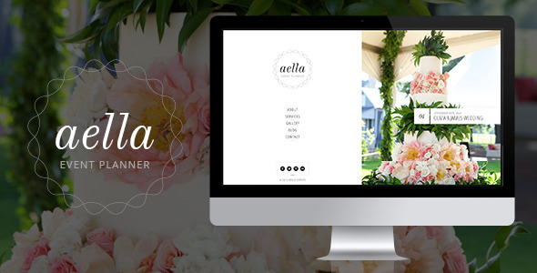 Aella - PSD Template for Event Planners  TForest