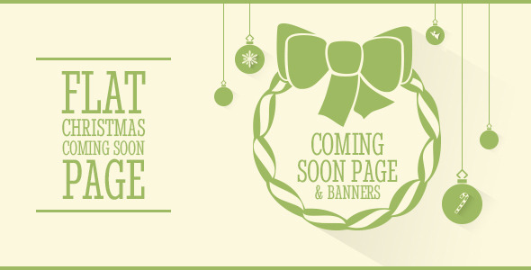Clipsa - Christmas Coming Soon Page  TForest