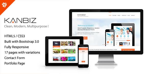 Kanbiz - Modern Multi-Purpose HTML Template  TForest