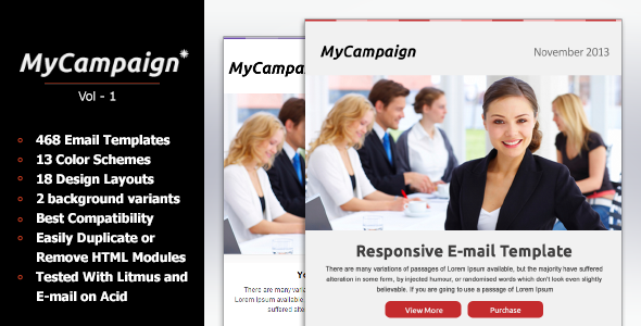MyCampaign - Multipurpose Business & E-commerce Em  TForest