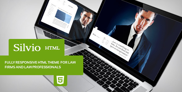 Silvio - HTML Theme for Law Firms  TForest