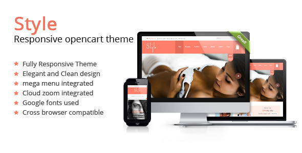 Style Shop Multi Color Responsive Opencart Theme  TForest