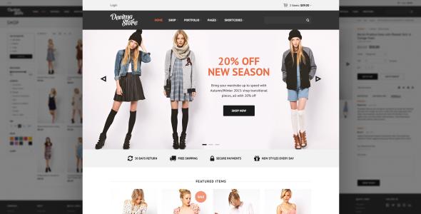 Decima eCommerce HTML Template  TForest