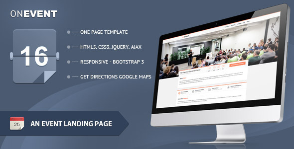 OnEvent - Special Event Landing Page  TForest