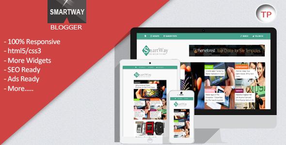 SmartWay - Responsive Blogger Template  TForest