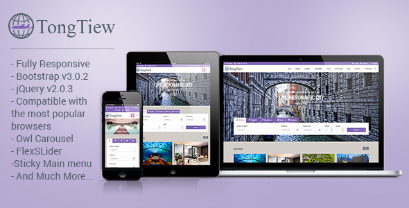 TongTiew - Travel Agency HTML5 Responsive Template  TForest