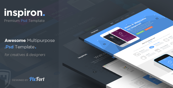 inspiron - Awesome Multipurpose PSD Template  TForest