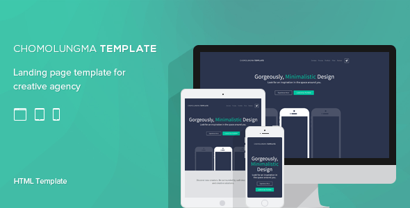 Chomolungma | Responsive Landing Page  TForest