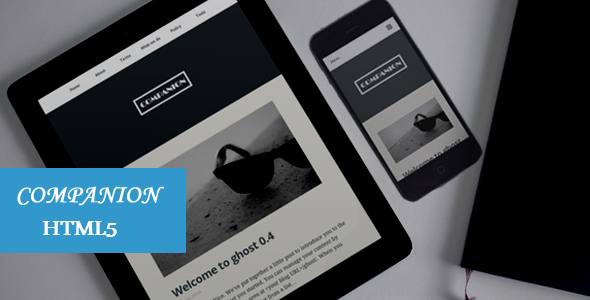 Companion Clean and responsive HTML5 template  TForest