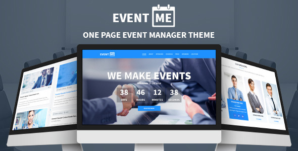 EventME-One Page Event Manager Theme  TForest