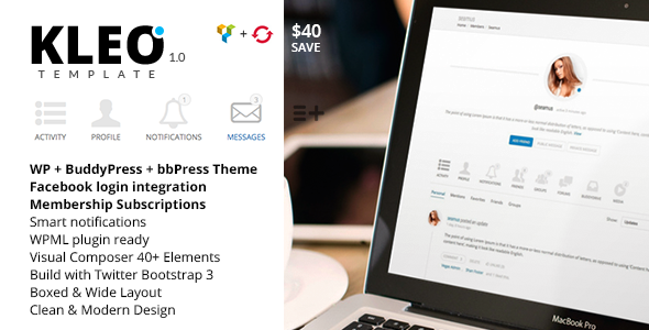 KLEO – Next level Premium WordPress Theme  TForest